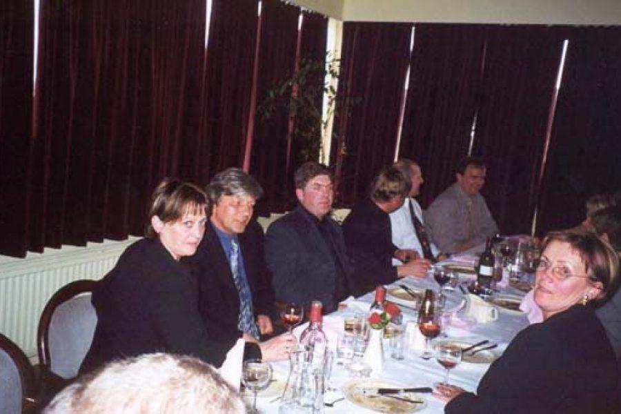 Árshátíð Vísis 2000 á Hótel Örk, Hveragerði