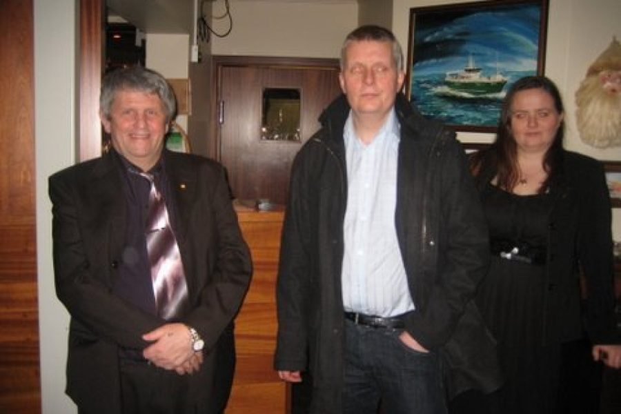 Kvöldverður á Kaffi Duus, eftir aðalfund 2008